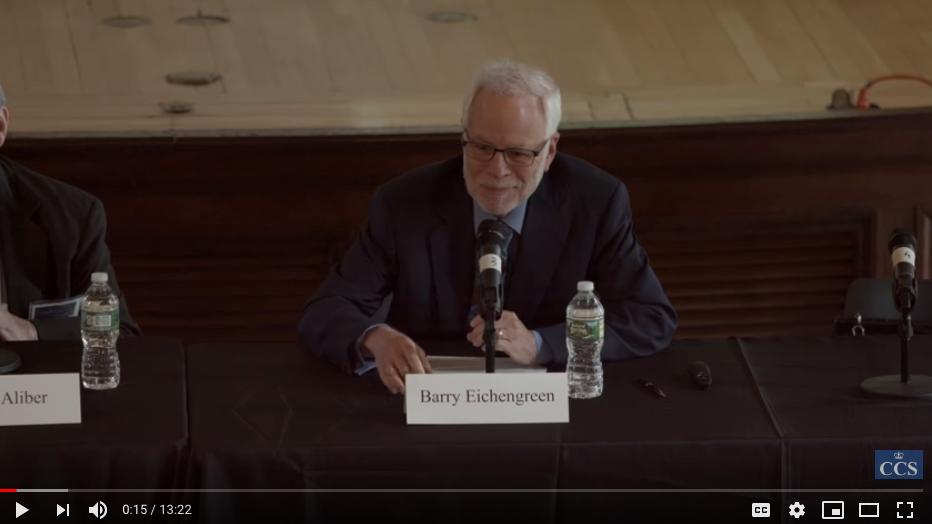 Barry Eichengreen video